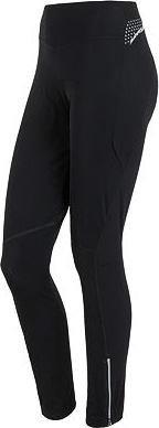 Černé dlouhé zimní dámské cyklistické kalhoty s vložkou Sensor - velikost S