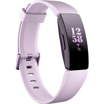 Růžový fitness náramek Inspire HR, Fitbit
