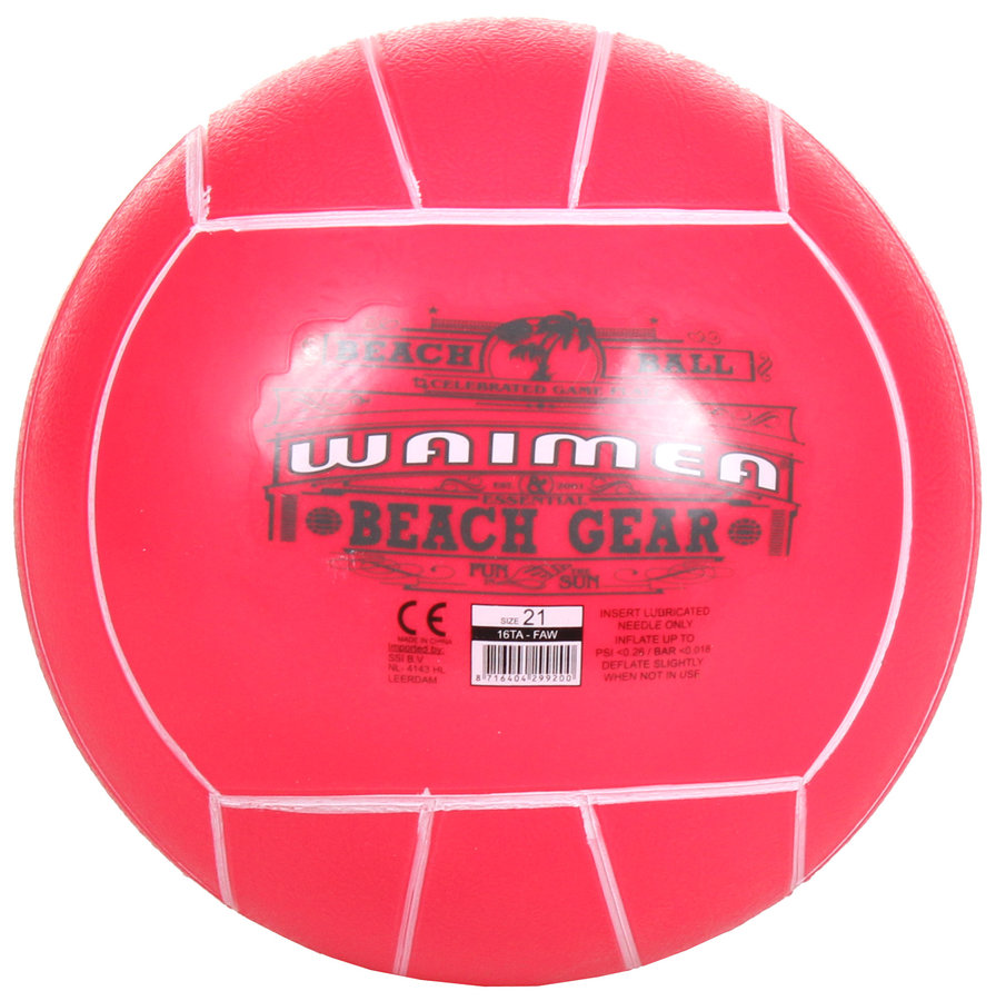 Plážový míč - Waimea Play 21 plážový míč růžová