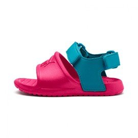 Růžové dívčí sandály Puma