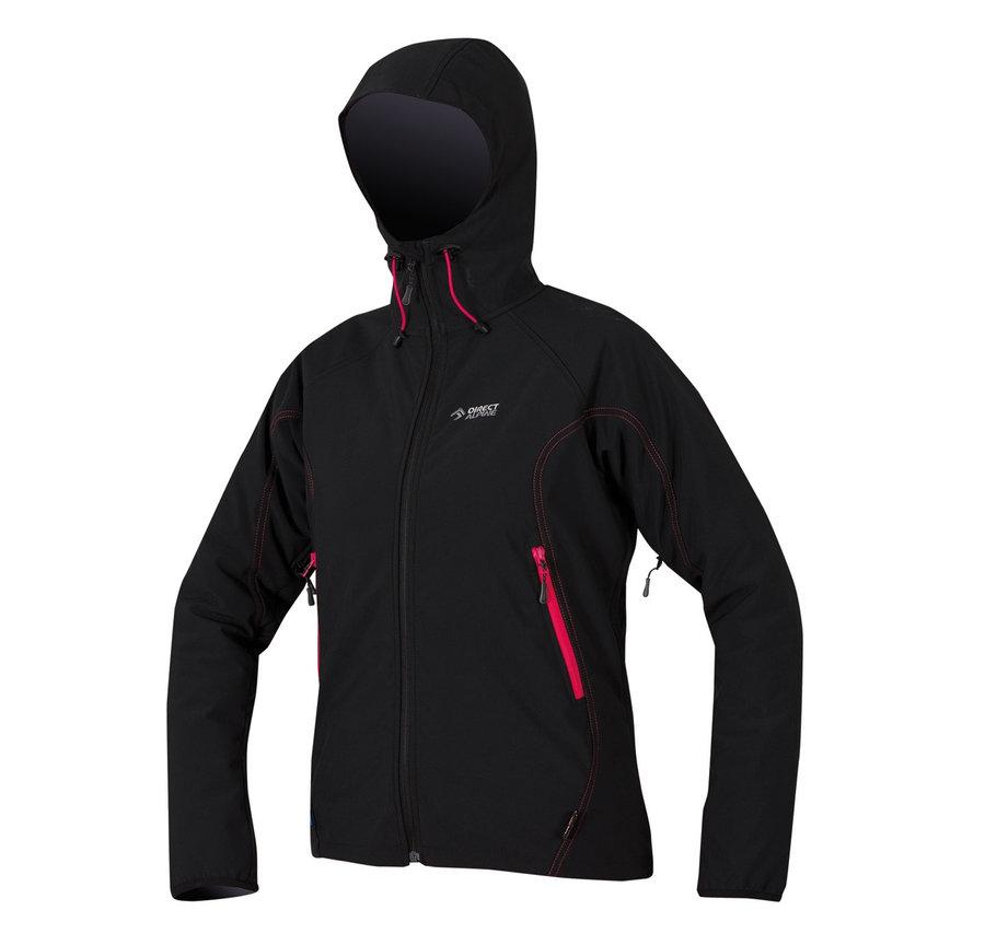 Černá softshellová dámská bunda Direct Alpine
