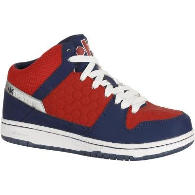 Červeno-modré dětské basketbalové boty StarEver, Kipsta