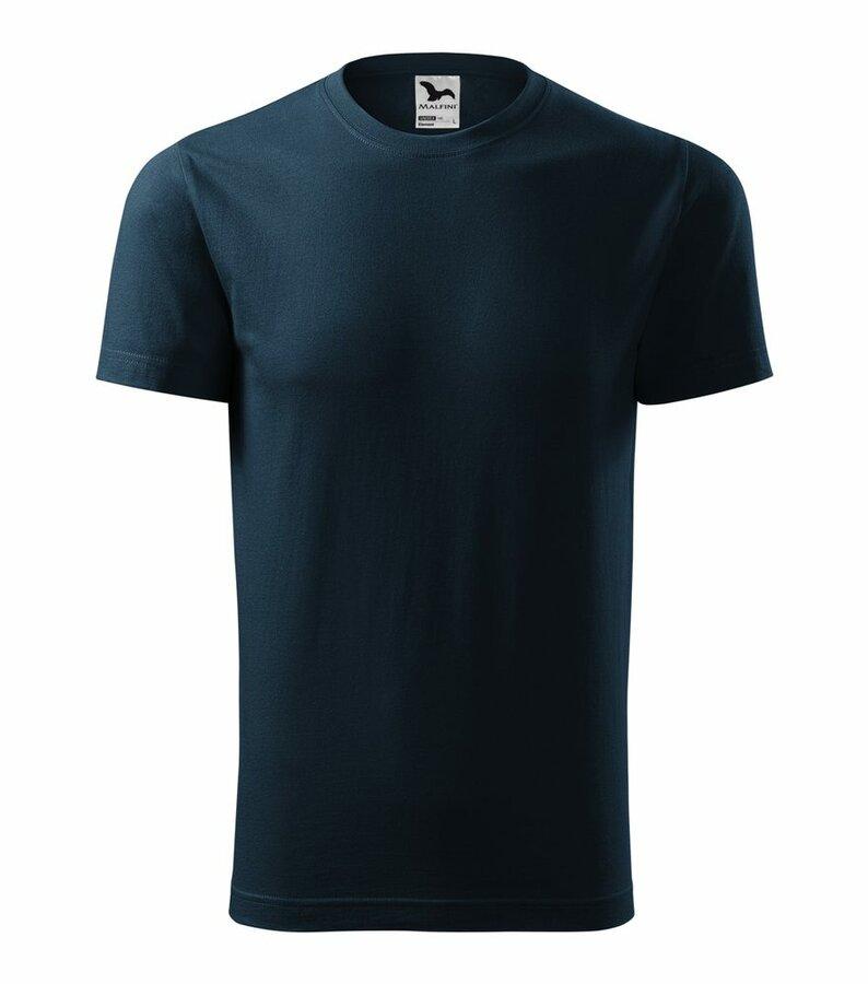 Modré tričko s krátkým rukávem Adler - velikost L