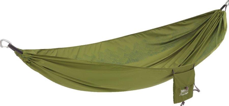 Zelená houpací síť pro 1 osobu Hammock, Therm A Rest
