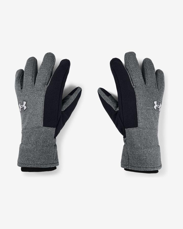 Šedé pánské zimní rukavice Under Armour