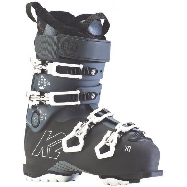 Černé dámské lyžařské boty K2 - velikost vnitřní stélky 27,5 cm