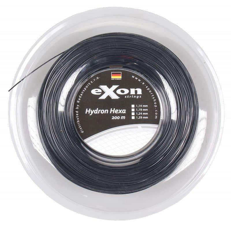Tenisový výplet - Hydron Hexa tenisový výplet 200 m barva: červená;průměr: 1,24