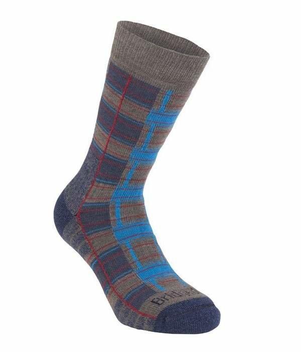 Modro-šedé pánské trekové ponožky Bridgedale