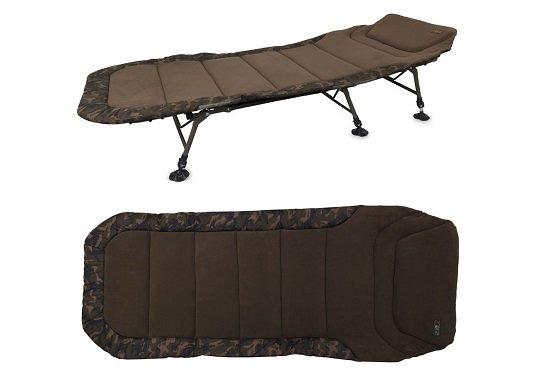 Šestinohé rybářské lehátko R3 Camo Bedchairs King Size, Fox International - délka 220 cm