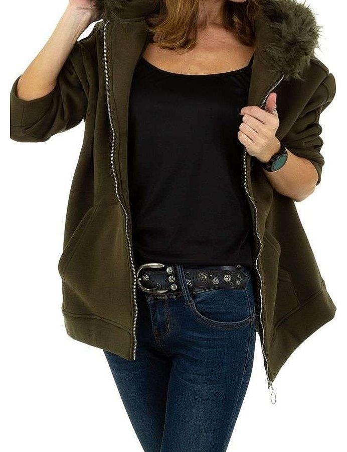 Zelená dámská bunda - velikost S