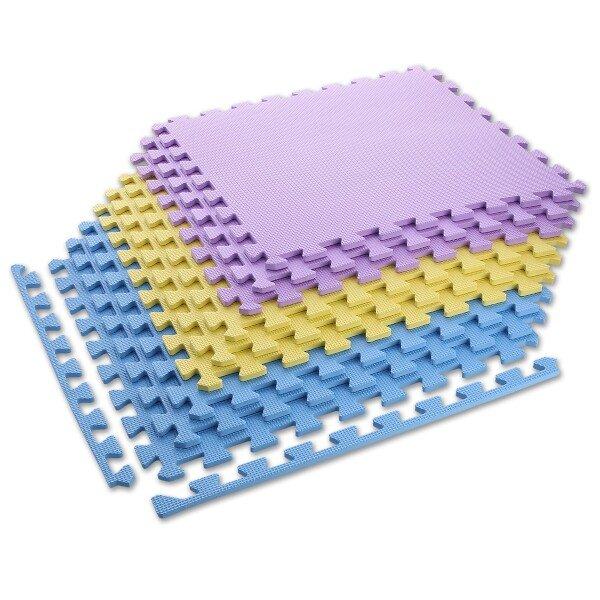 Různobarevná zátěžová podložka One Fitness - tloušťka 10 mm