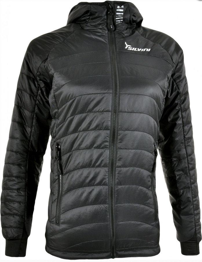 Černá zimní dámská bunda na běžky Silvini