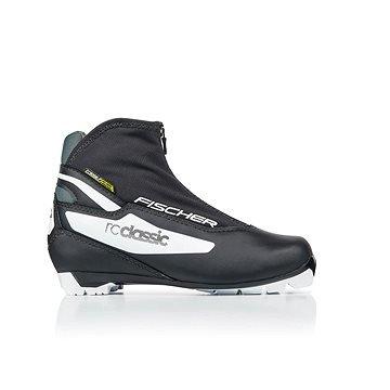 Černé dámské boty na běžky Fischer - velikost 39 EU