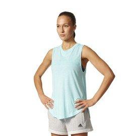 Modré dámské tílko Adidas - velikost XS