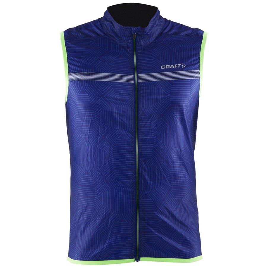 Modrá pánská jezdecká vesta Featherlight, Craft - velikost M