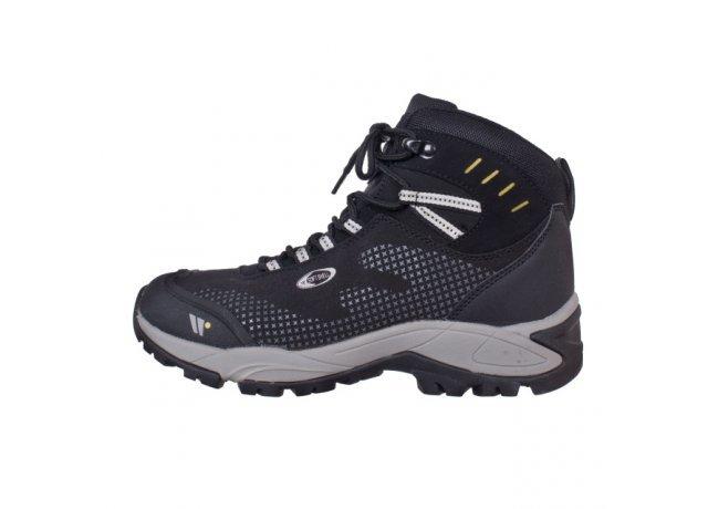 Černé dámské trekové boty WOOLF