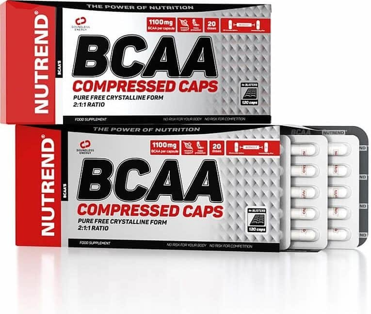 BCAA - NUTREND BCAA COMPRESSED 120 tablet