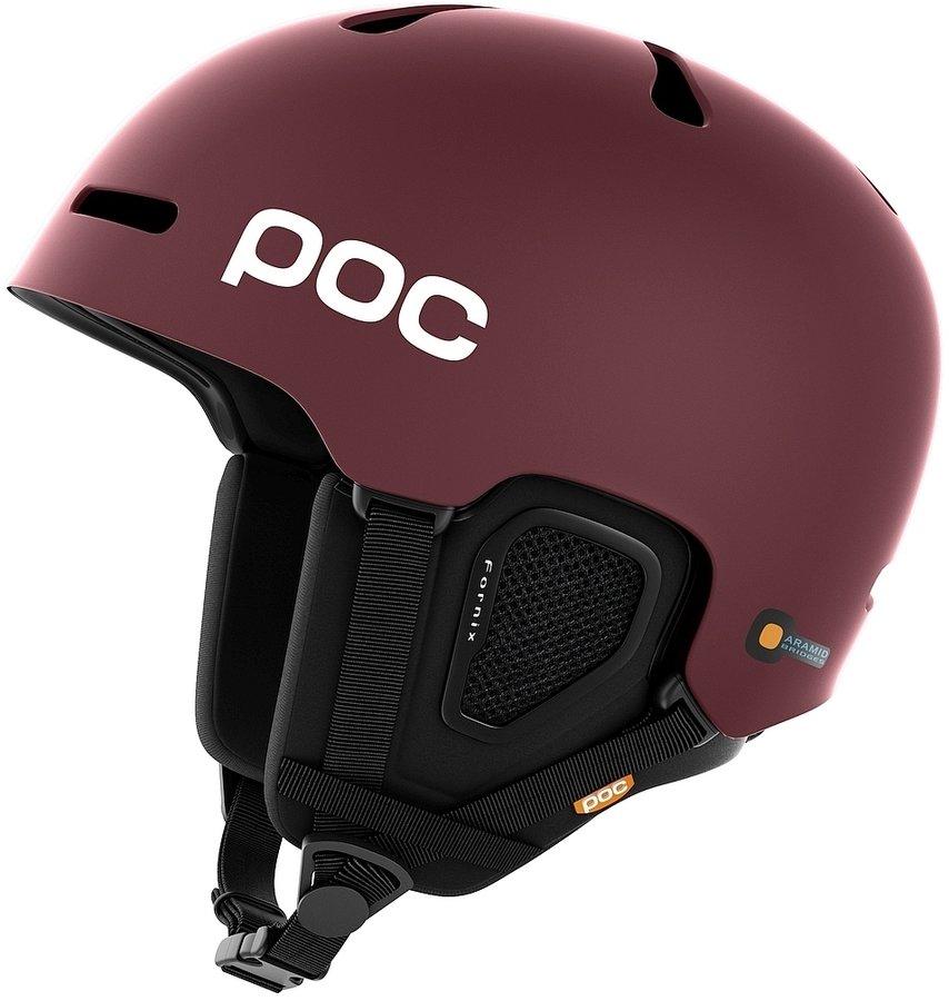 Červená dámská helma na snowboard POC - velikost XS-S