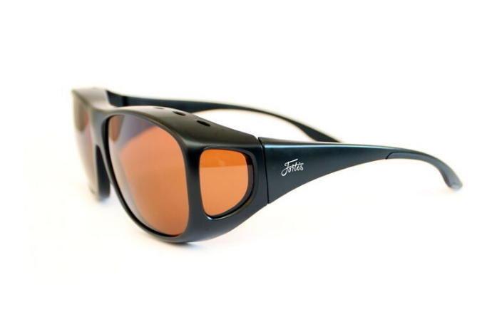 Polarizační brýle - Fortis Eyewear Fortis polarizační brýle Overwraps Brown Varianta: Fortis polarizační brýle Overwraps Brown
