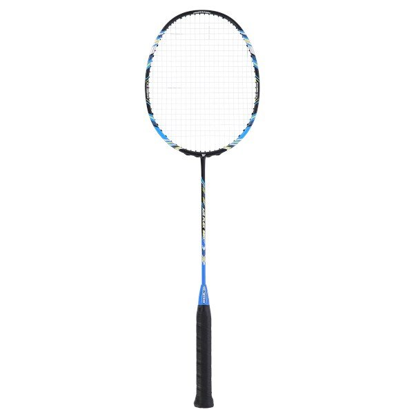 Černo-modrá raketa na badminton Wish - délka 67,5 cm