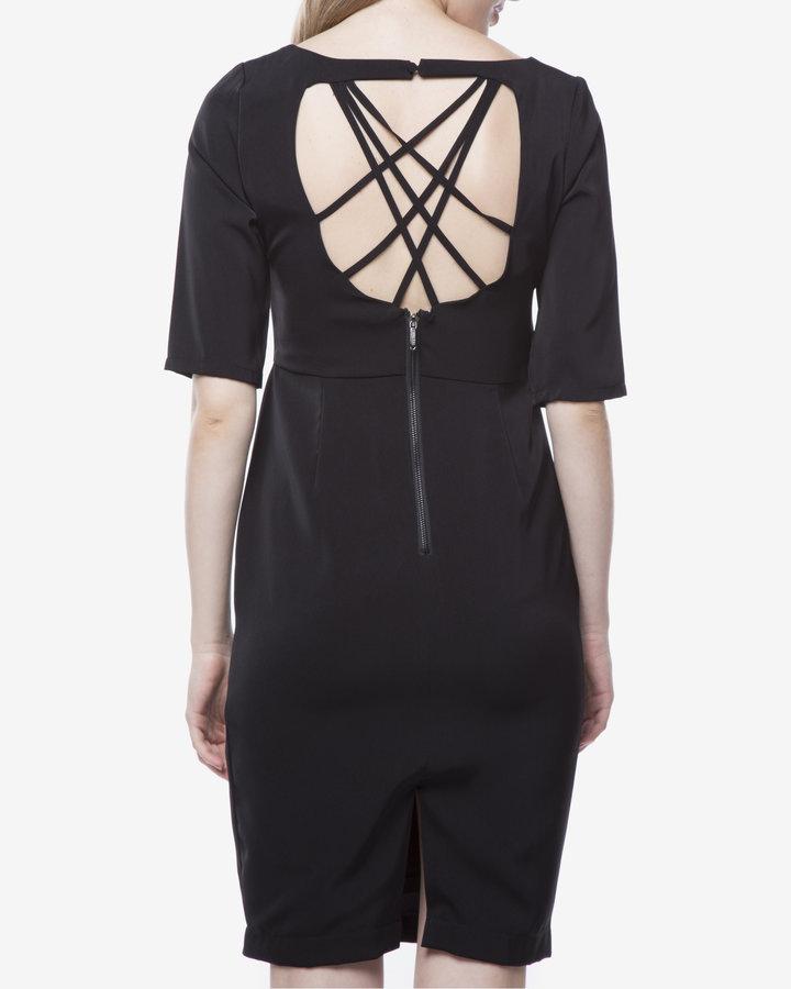 Černé dámské šaty Fracomina - velikost M