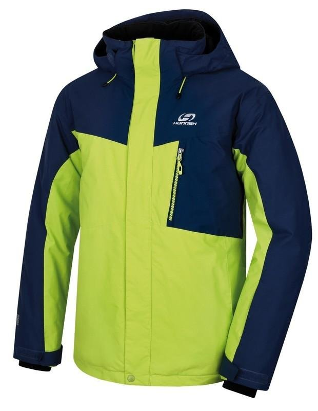 Modro-zelená pánská lyžařská bunda Hannah