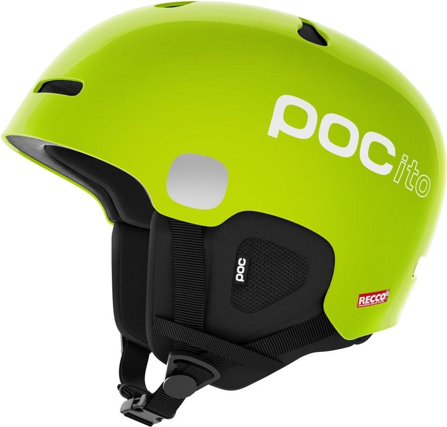 Zelená dětská lyžařská helma POC