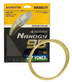 Badmintonový výplet NBG 95 Nanogy, Yonex - průměr 0,69 mm