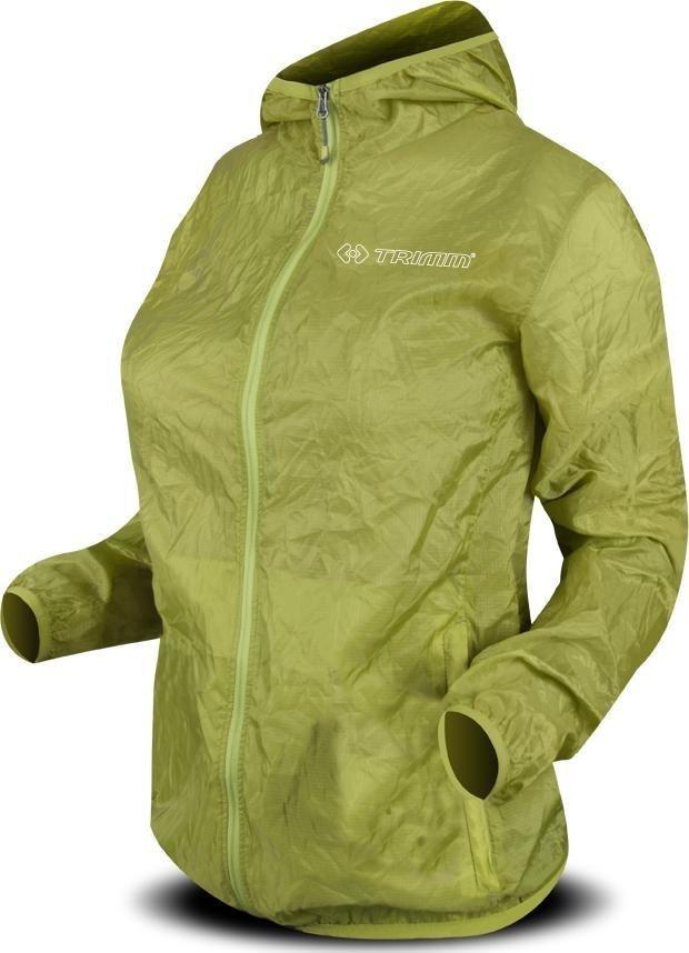 Zelená sportovní nepromokavá dámská bunda Trimm - velikost XS