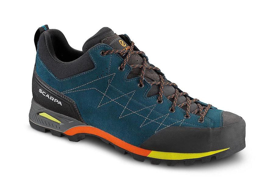 Modré pánské trekové boty Scarpa - velikost 46 EU