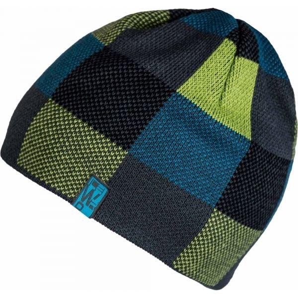 Černá chlapecká zimní čepice Lewro