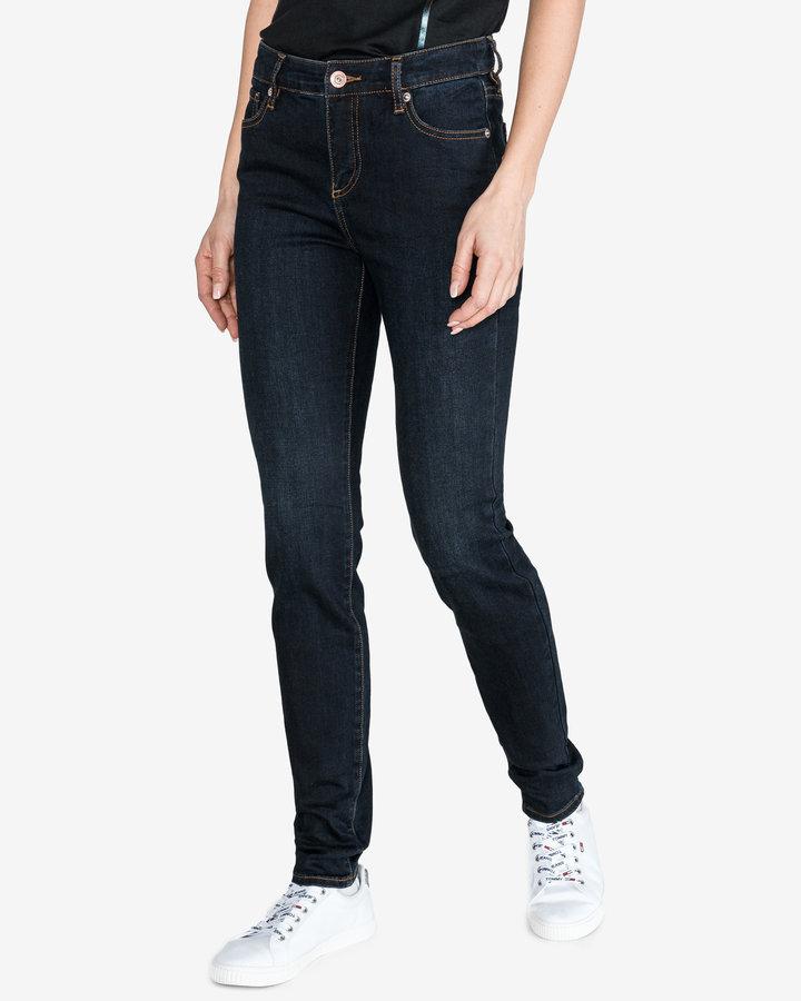 Modré dámské džíny Armani Exchange - velikost 25