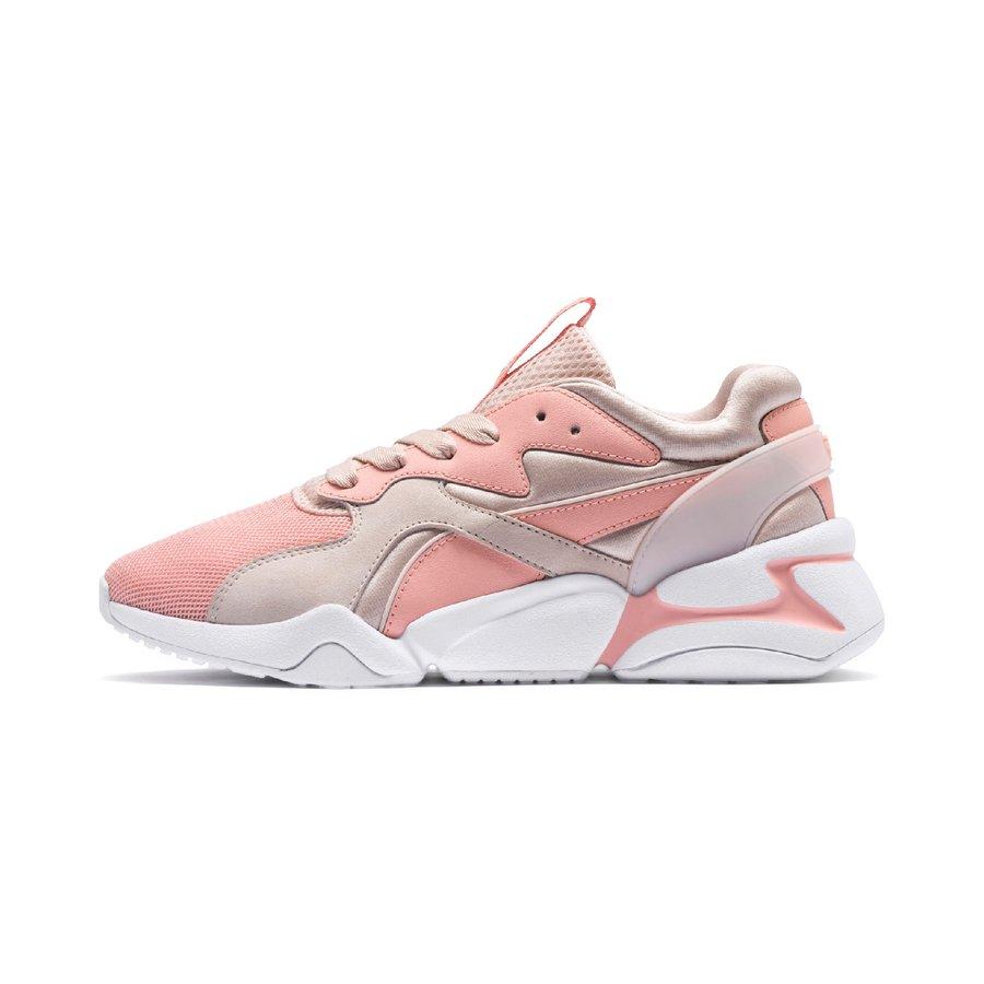 Růžové dámské tenisky Puma - velikost 40 EU