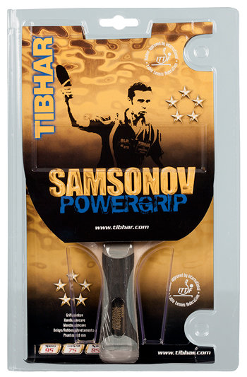 Pálka na stolní tenis Samsonov Powergrip, Tibhar