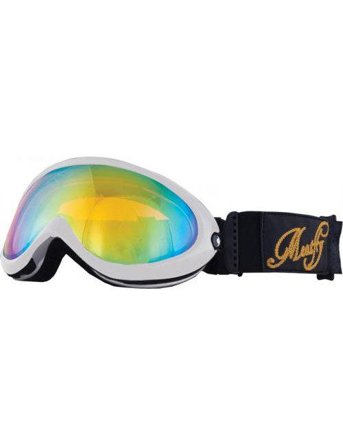 Černé lyžařské brýle Meatfly