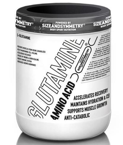 L-Glutamin - SIZEANDSYMMETRY L-Glutamine 300 g