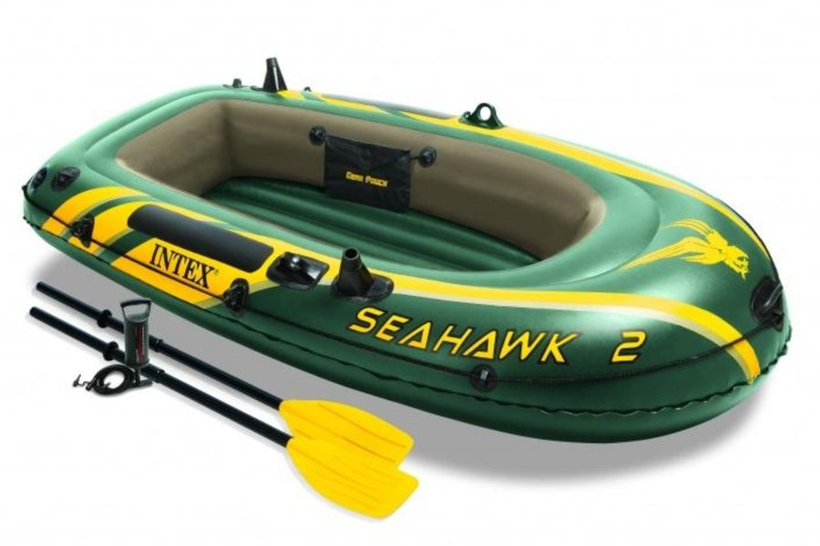 Člun - Nafukovací člun INTEX Seahawk 2 Set - 2.jakost