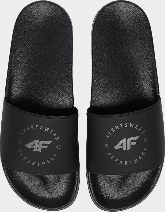 Černé pánské pantofle 4F - velikost 42 EU