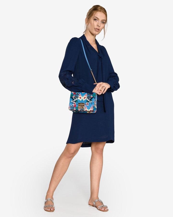 Modré dámské šaty French Connection - velikost S