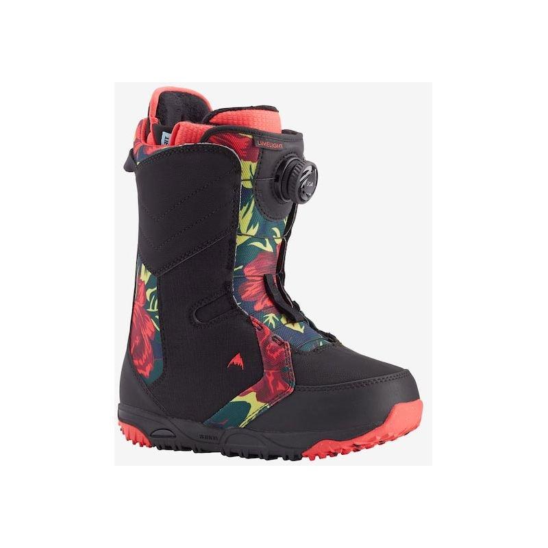 Černé boty na snowboard Burton