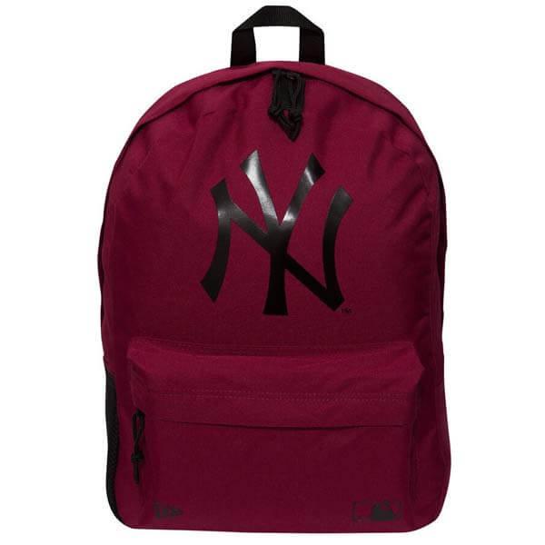 Batoh - Batoh New Era MLB Stadium Backpack NY Yankees Cardinal Red - UNI