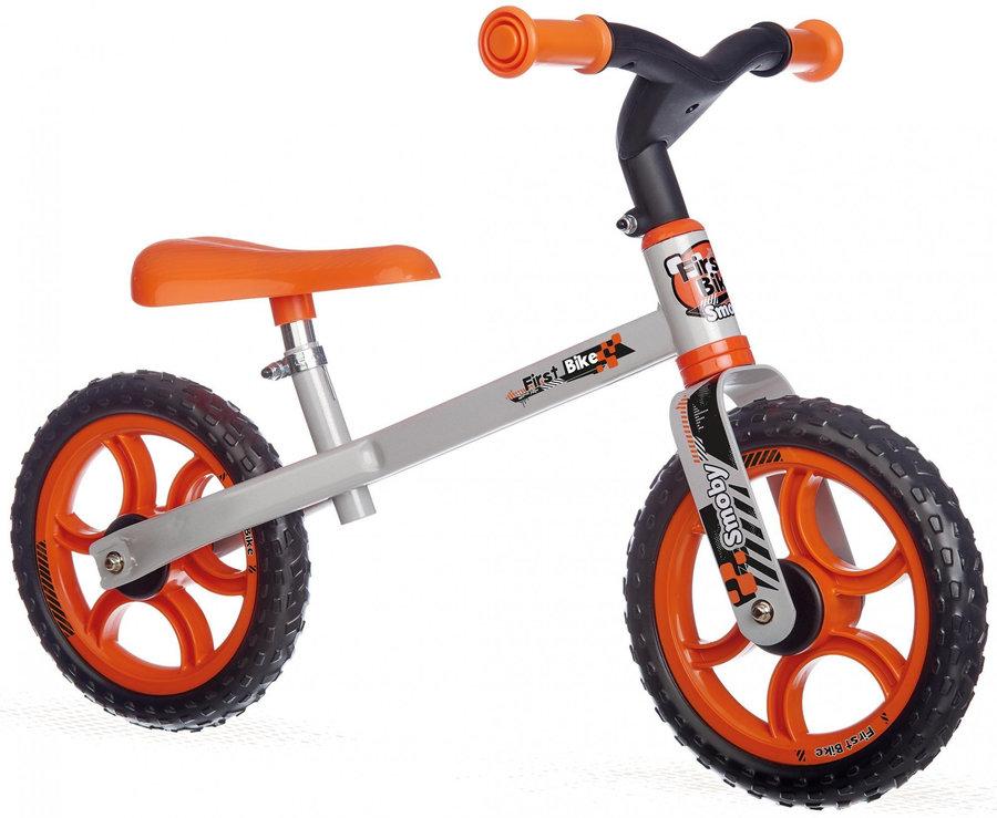 Oranžové dětské odrážedlo Smoby