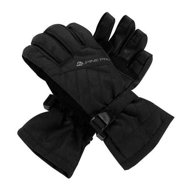 Černé dámské lyžařské rukavice Alpine Pro