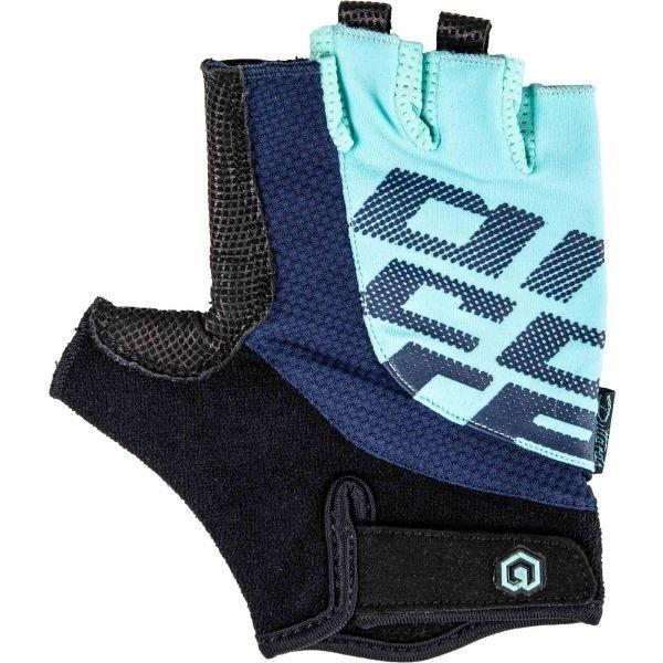 Černo-modré cyklistické rukavice Arcore