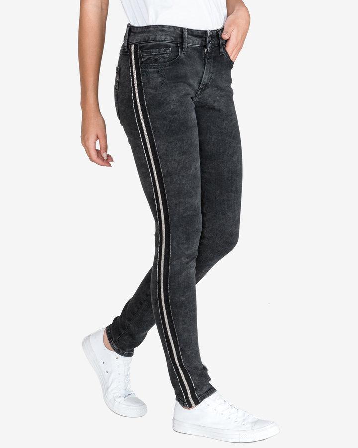 Černé dámské džíny Replay - velikost 28