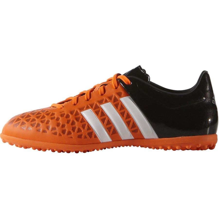 Černo-oranžové dětské kopačky turfy Ace 15.3 TF J, Adidas - velikost 29 EU