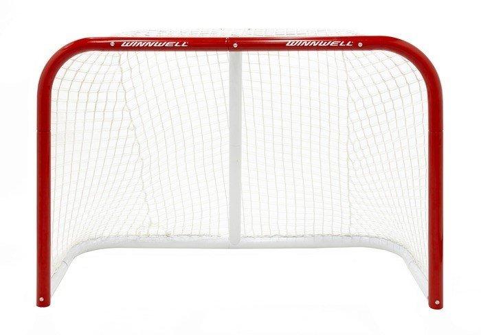 Kovová hokejová branka Heavy Duty, Winnwell - šířka 132 cm, výška 91 cm a hloubka 60 cm