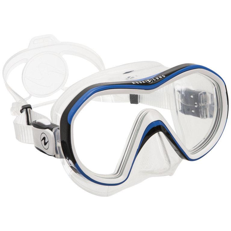 Modrá potápěčská maska REVEAL X1, Aqualung