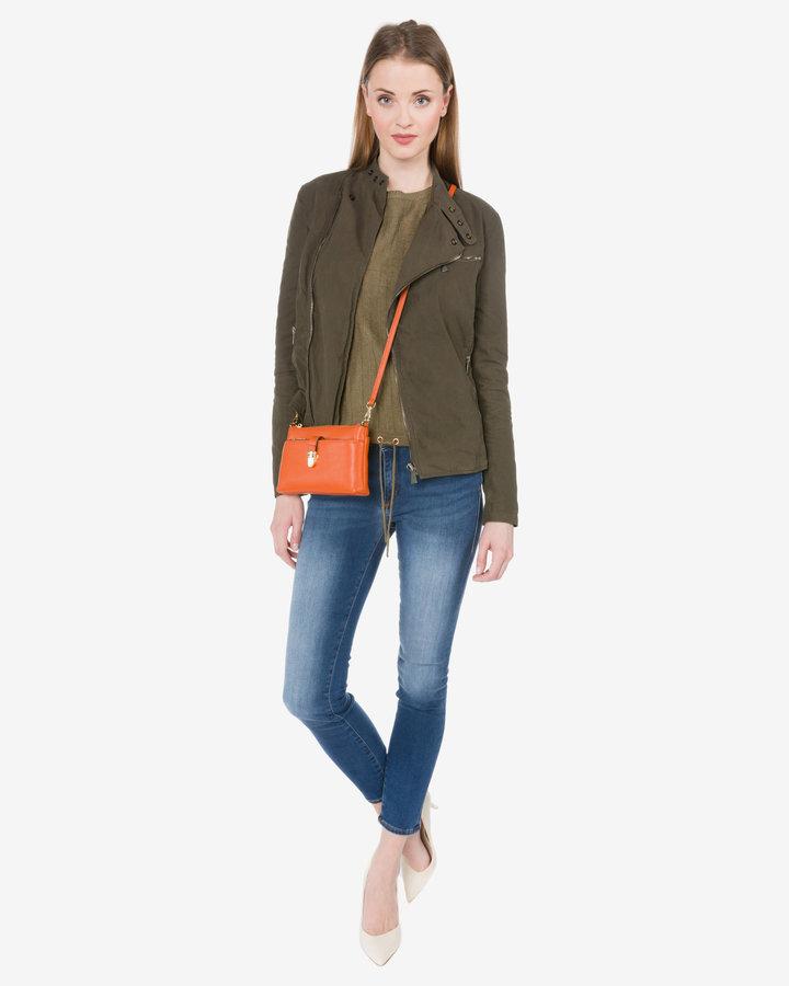 Zelená dámská bunda Trussardi Jeans - velikost M