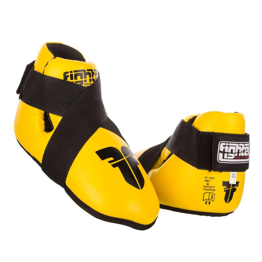 Žluté chrániče na nohy Fighter